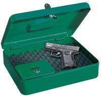 T04828  Gun Box/RAL6002 na krátku zbraň 30x24x9cm