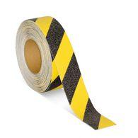 Protišmyková páska na schody žltá / čierná