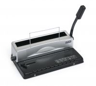 HP2108 viazač na drôtovú hrebeňovú väzbu/kapacita 120 listov