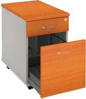 K 22 ZSC N kontajner s tužkovníkom 40x60x60 cm zásuvka pre zakladače,farba/farba, roky naprieč