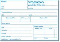 051 Výdavkový pokladničný doklad A6