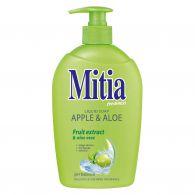 Mitia tekuté mydlo 500 ml Aloe&Milk s dávkovačom