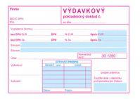 172 Výdavkový pokladničný doklad s DPH-samoprepis