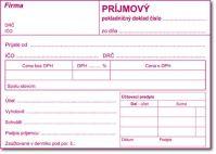 043 Prijmový pokladničný doklad A6/100 listov
