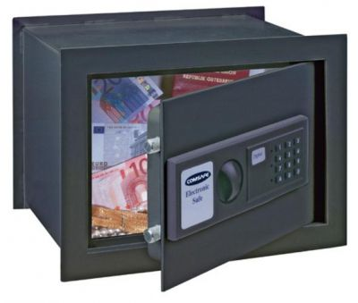 T03137 WallMatic-2 EZ stenový sejf antracid/ 28x38x26cm